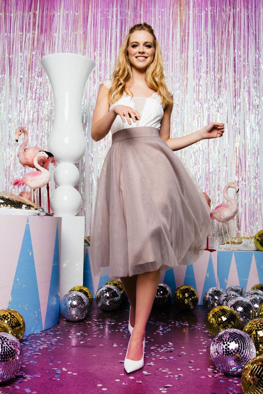 newest collection 78537 c3f6a Farbiger Tüllrock für die Braut | finde hier dein ...