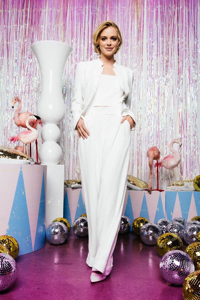 Braut Hose aus Crepe – perfekt mit Bluse oder Bolero zu kombinieren