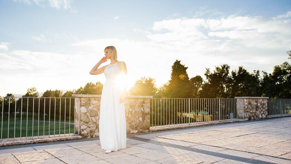 Brautkleider fließend Fina