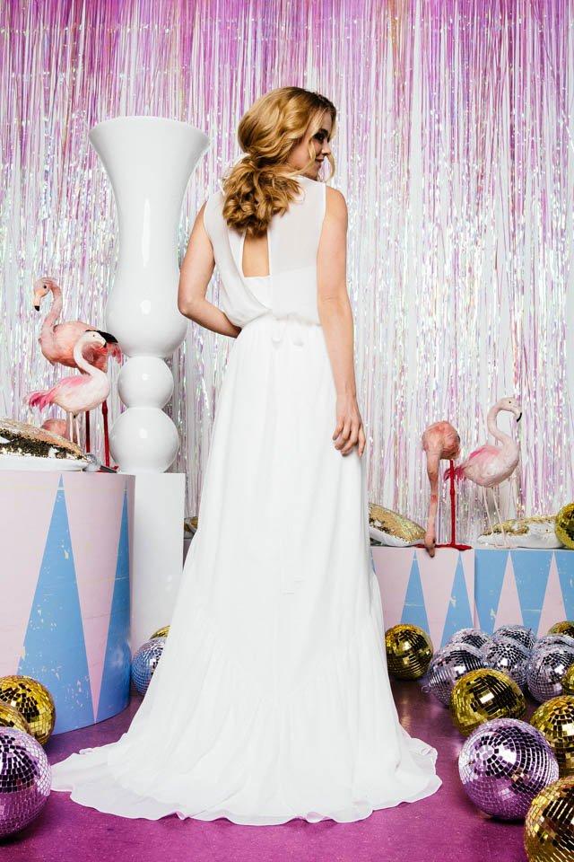 Chiffonrock zur Hochzeit – toller Zweiteiler mit Spitzen- oder Chiffontop