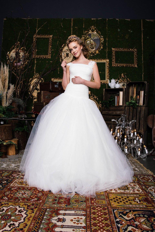 Prinzessinnen Brautkleid aus Tüll