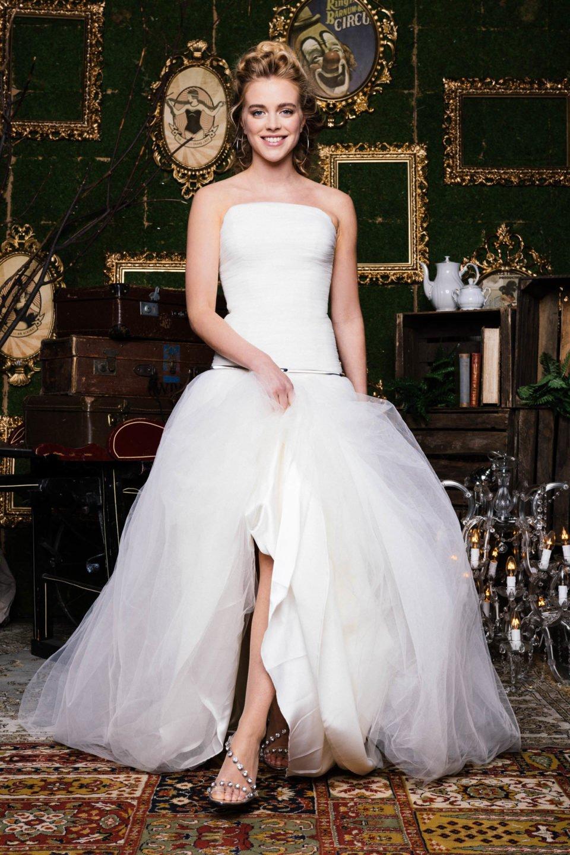 Tüll Brautkleid im Prinzessinnen Look