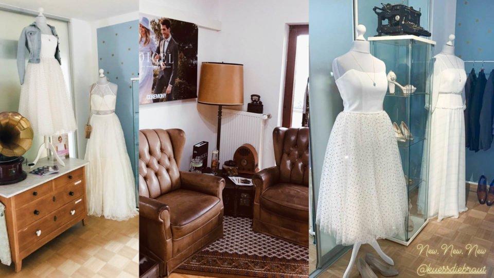 Brautmode bei Aschaffenburg, Brautmodengeschäft Seligenstadt