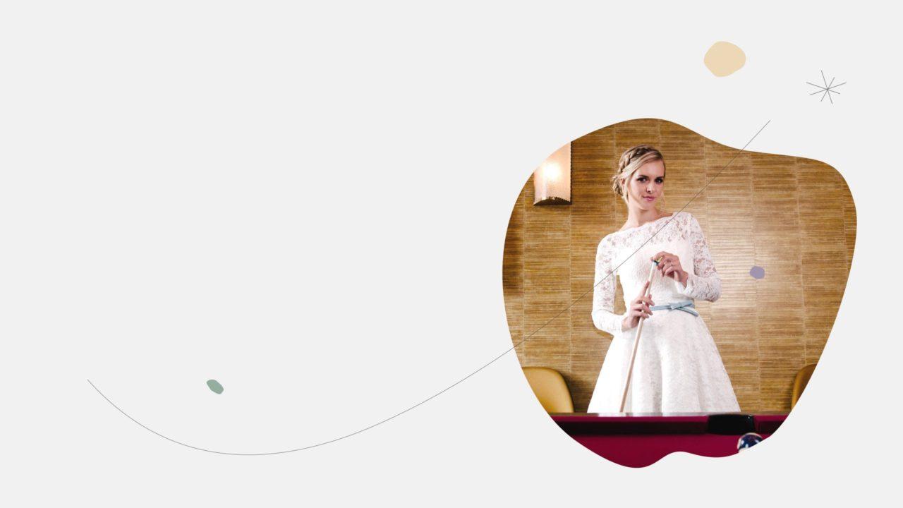 Brautkleider in A-Linie
