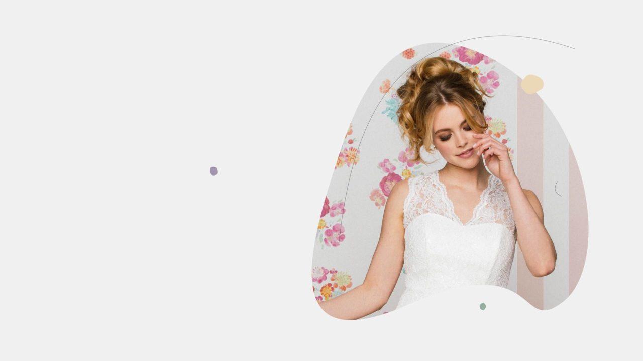 Brautkleider mit Trägern