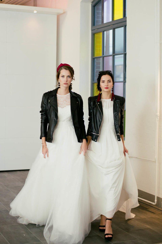 Brautkleider minimalistisch & cool