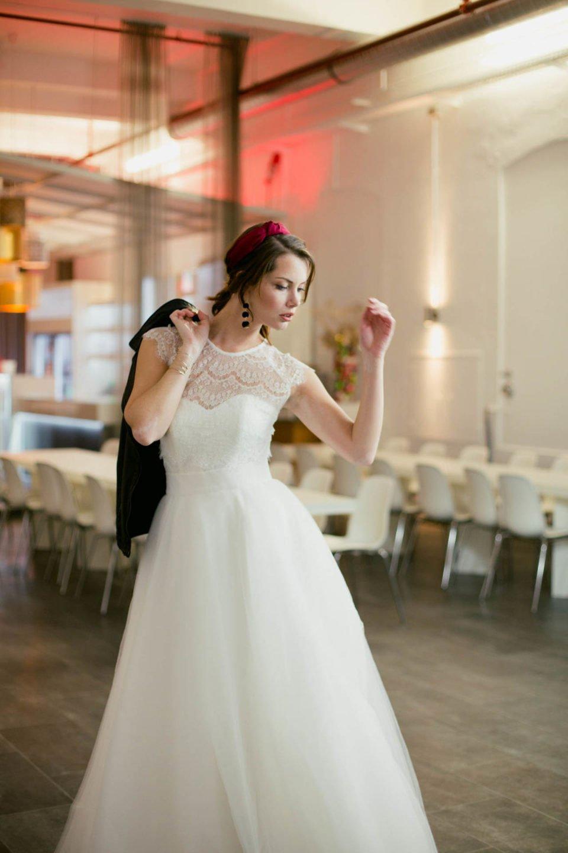 Brautkleid Zweiteiler: Brautrock zum kurzen Brautkleid
