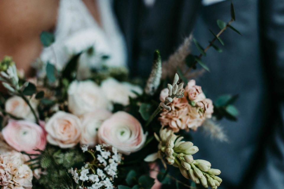 Brautstrauß Details