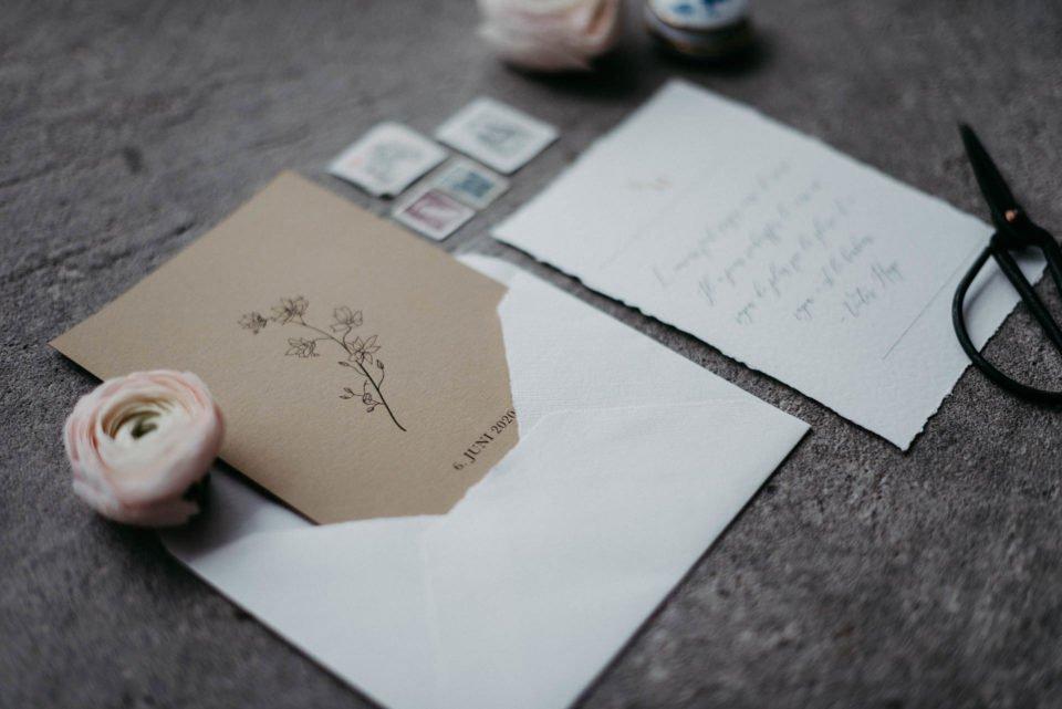 Papeterie - Einladung zur Hochzeit