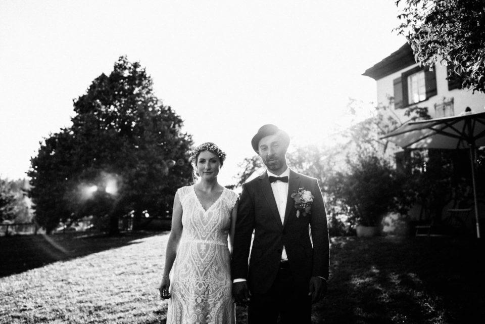 Cooles Boho Brautpaar