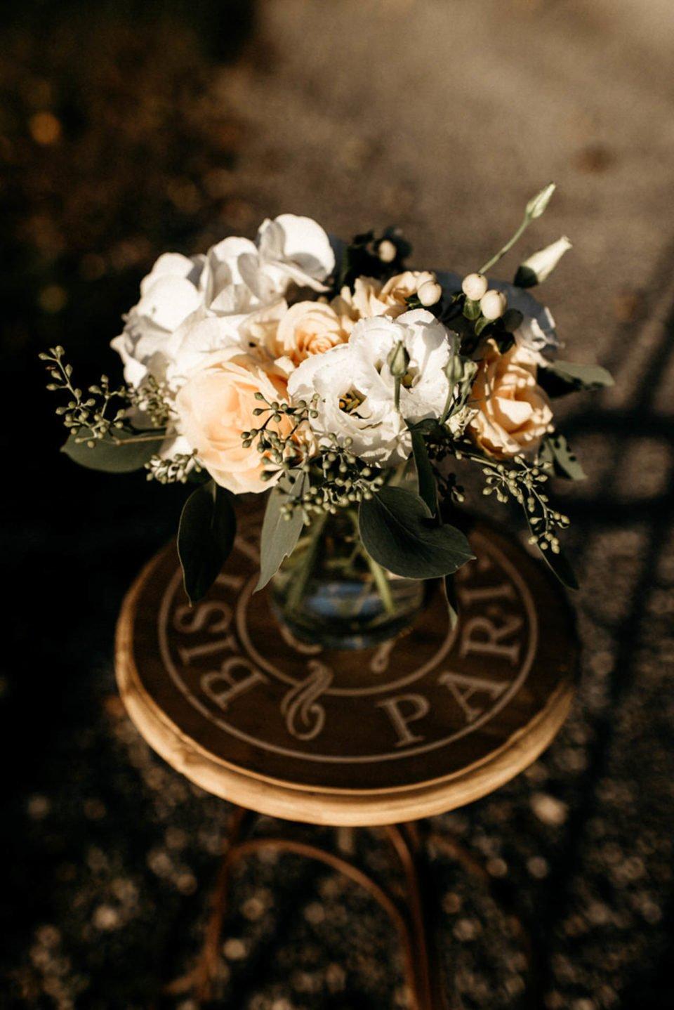 Brautstrauß bei September Hochzeit