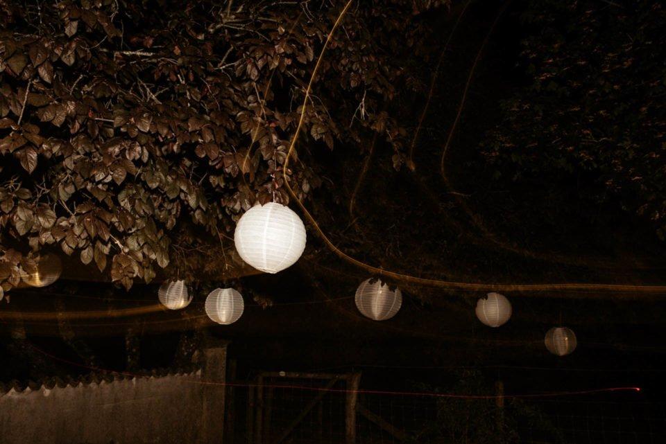 Lampenschirme auf Hofgut Dornsberg