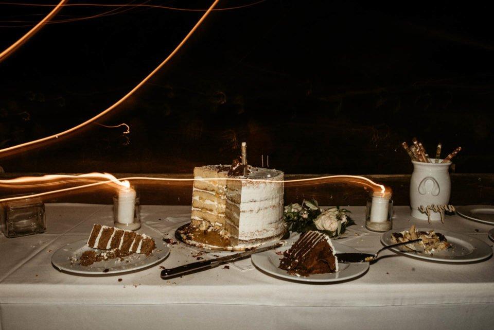 Hochzeitskuchen bei September Hochzeit
