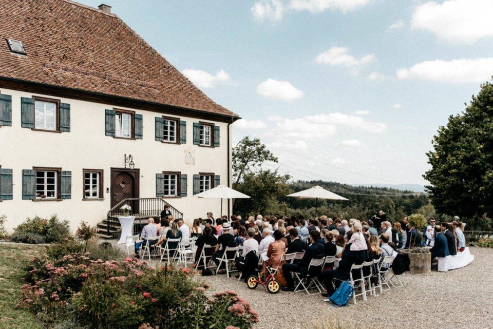 Hochzeit auf Hofgut Dornsberg