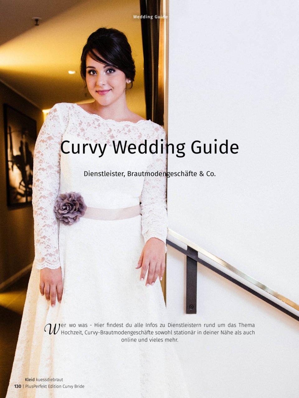 Curvy Bride Edition mit Wedding Guide