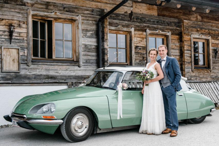 Hochzeit im Mai auf der Tanzbodenalm