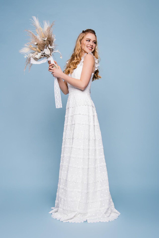 Brautkleid Baumwolle