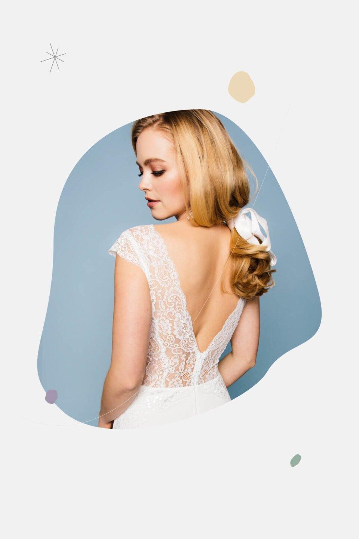 rückenfreies Brautkleid 2021