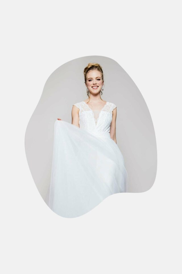 Zweiteiliges Brautkleid - Trend 2021