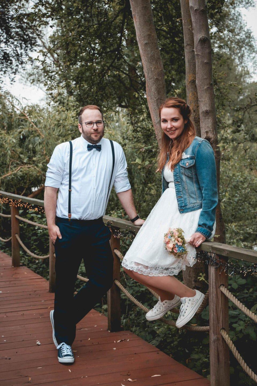 Standesamtliche Hochzeit im Juli
