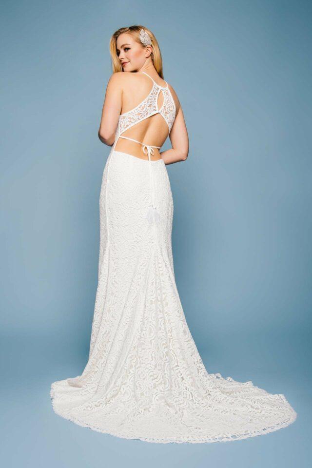 Sexy Brautkleid mit aufregendem Rücken & Meerjungfrauensilhouette – Camille