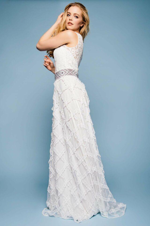 Designer Brautkleid mit Gürtel