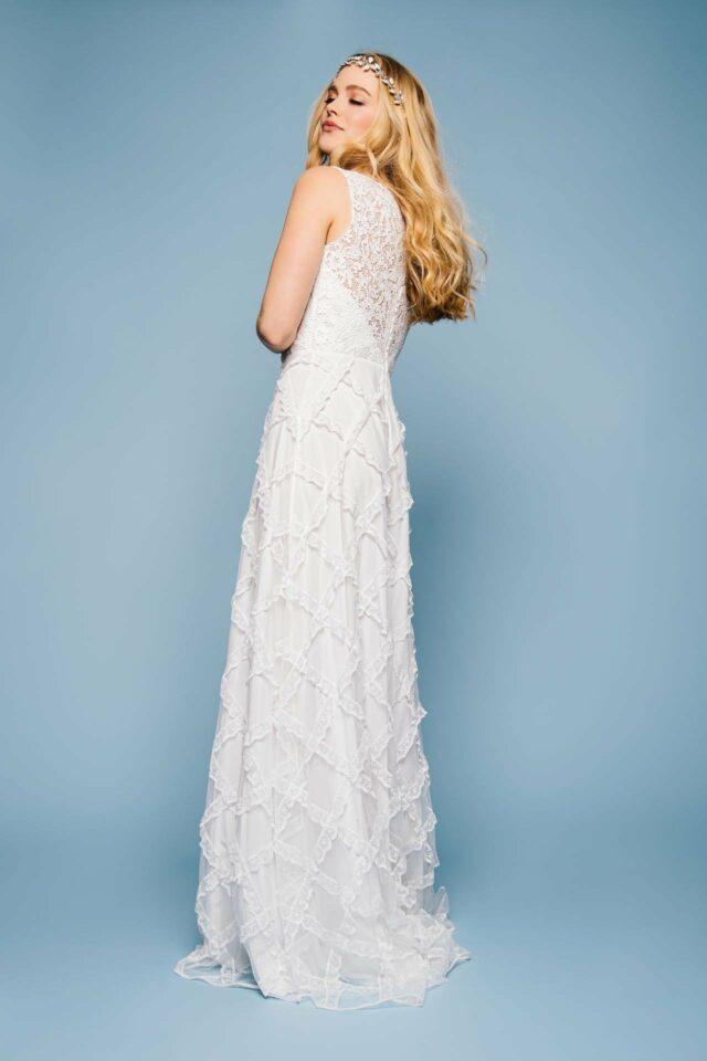 Design Brautkleid im Boho Stil