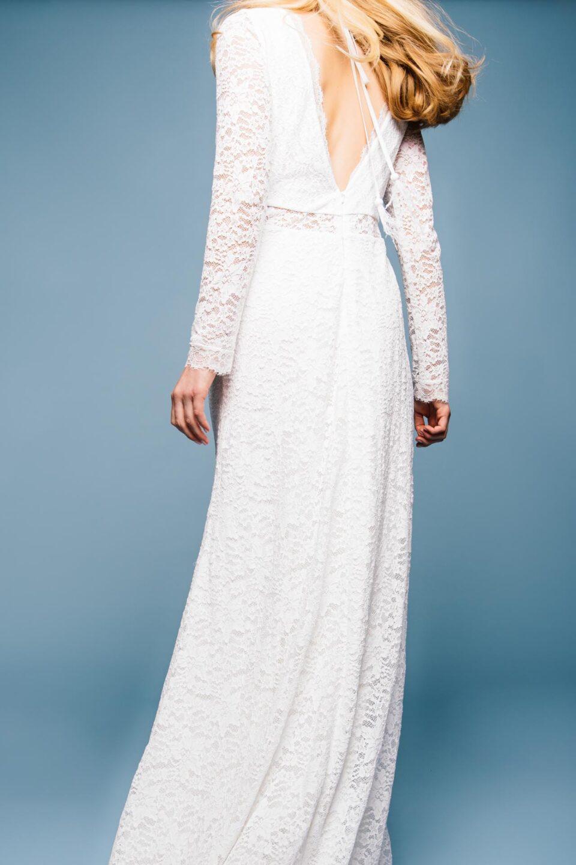 Brautkleid Langarm