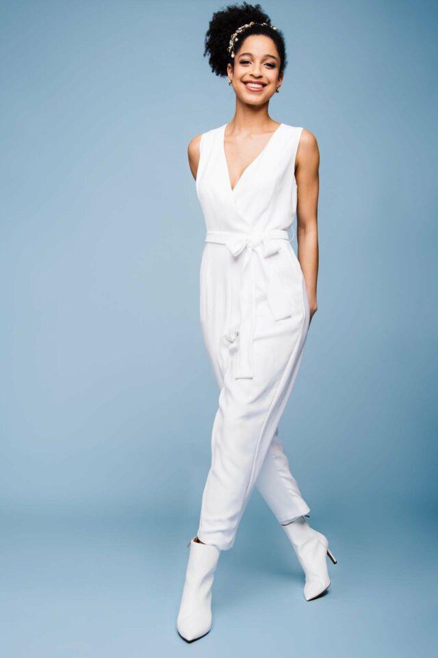Jumpsuit zur Hochzeit – pur, straight & stylish – Bo