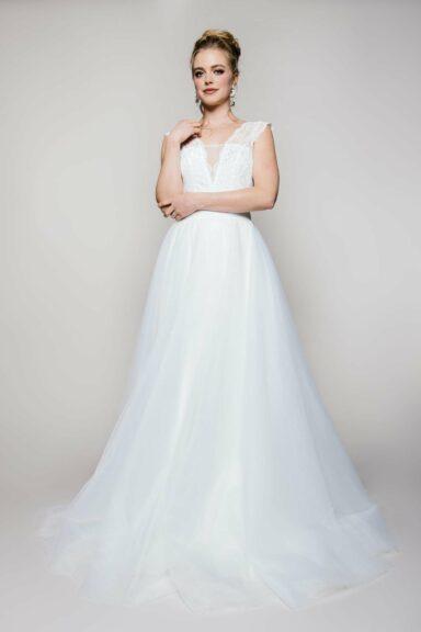 Langer Tüllrock zur Hochzeit