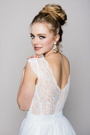 Braut Body aus Spitze