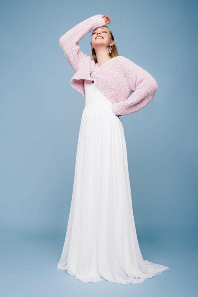 Puristisches Brautkleid – schlicht. elegant. pur. – Sun