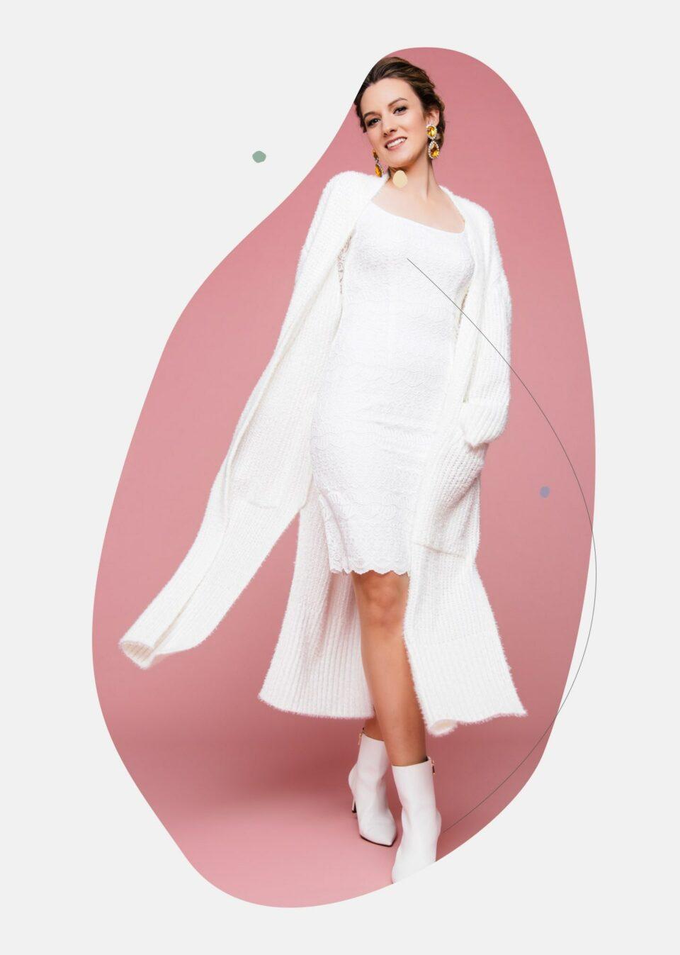 Brautkleider 2021 mit Strick