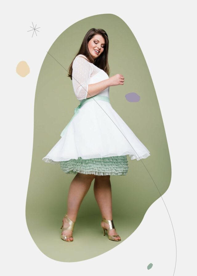 kurze Plus Size Brautkleider 2021