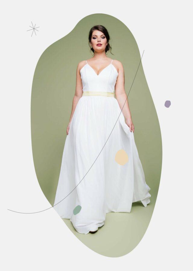 Plus Size Brautmode 2021