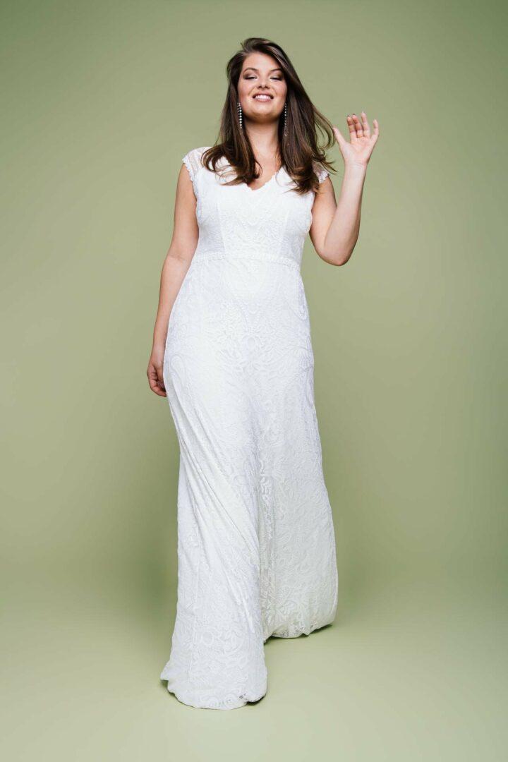 Vintage Brautkleid große Größen Liv