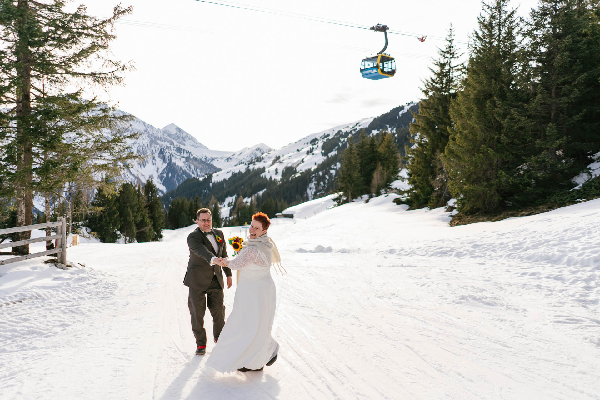 Winterhochzeit im Zillertal
