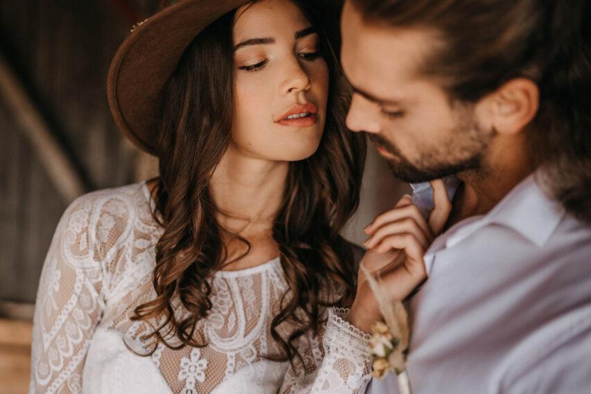 Western Hochzeit | moderne Country Inspiration mit 4 Brautoutfits