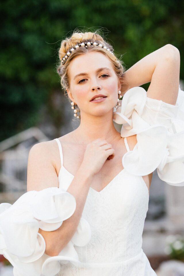 Bridgerton Hochzeit, Brautoutfit 2022