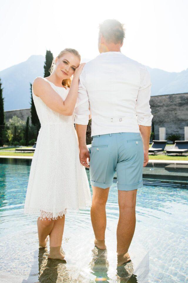 Brautpaar 2022, Inspiration für Sommer Hochzeit