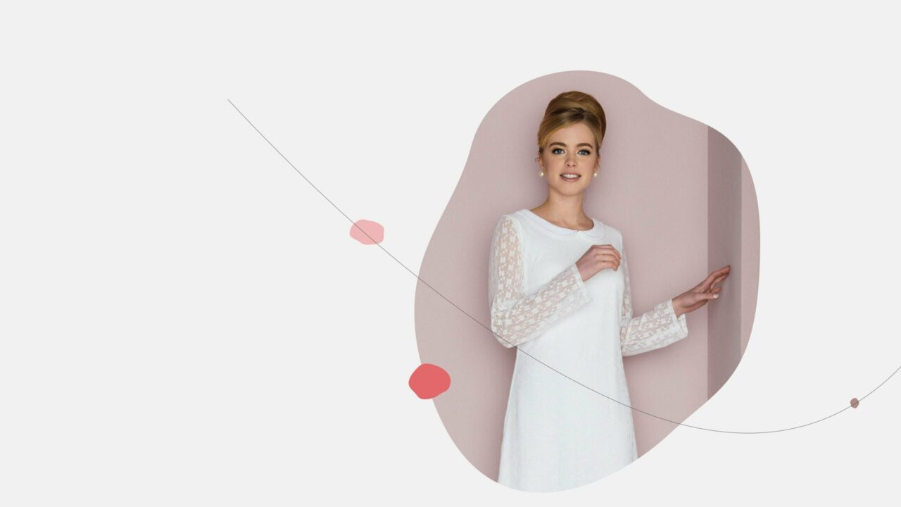 Brautkleid 60er Jahre – Ornella