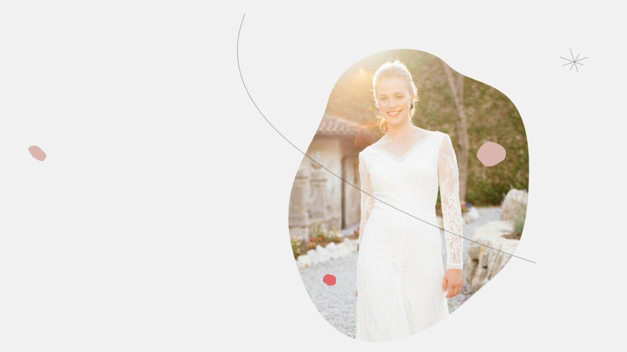 Brautkleid extravagant Augusta