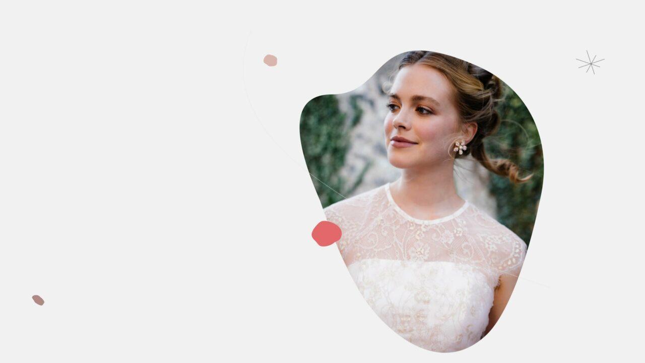 Brautkleid rosa Becky