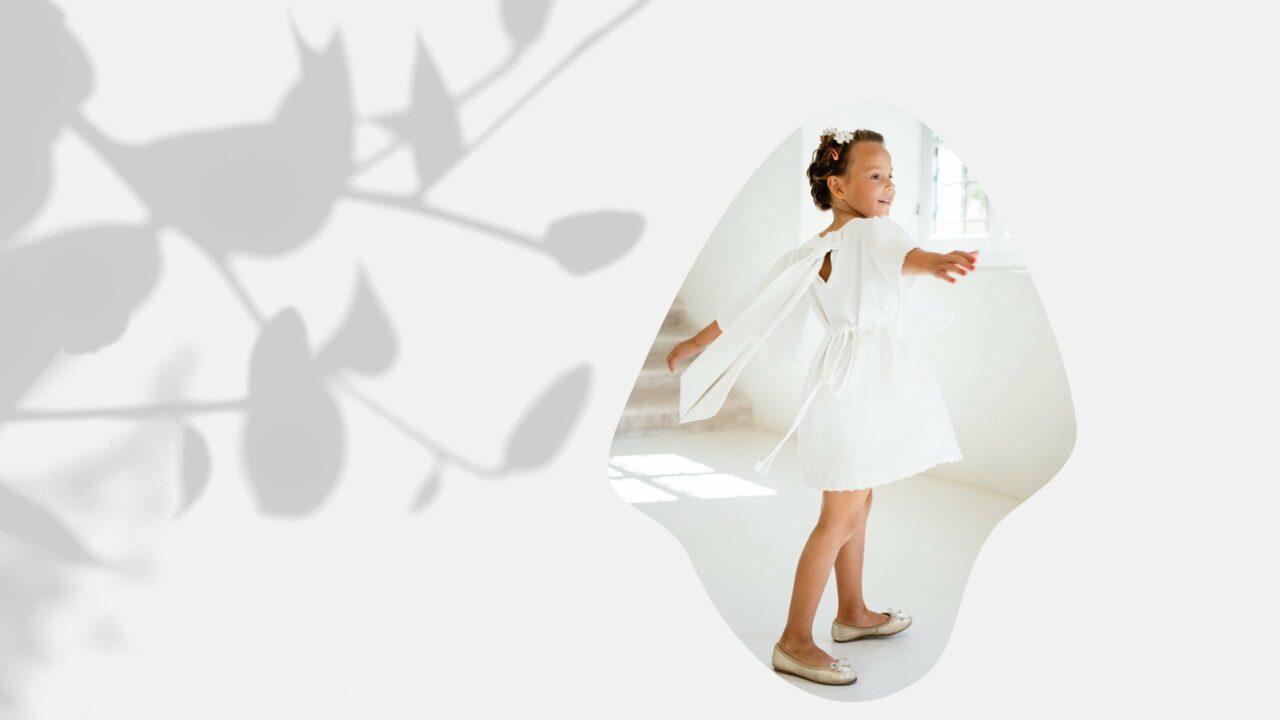 Nachhaltiges Kinderkleid