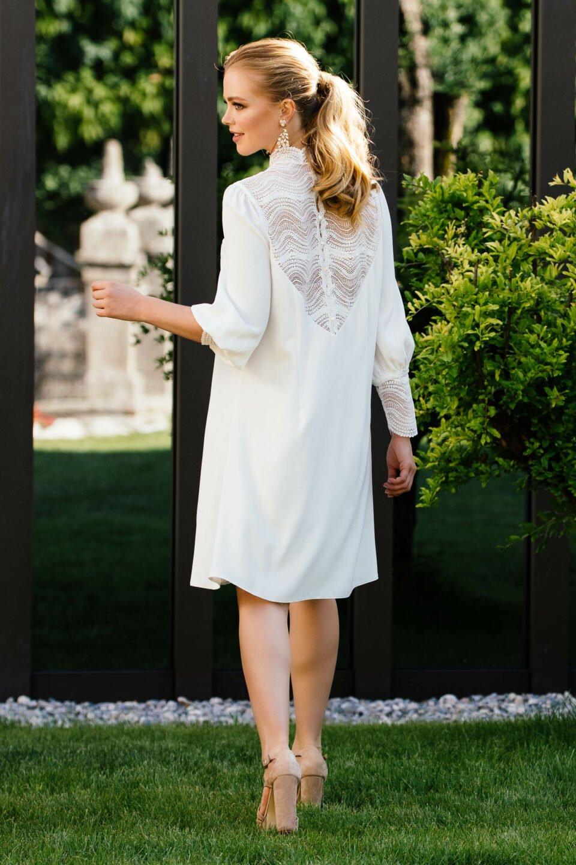 Nachhaltiges Standesamt Hochzeitskleid
