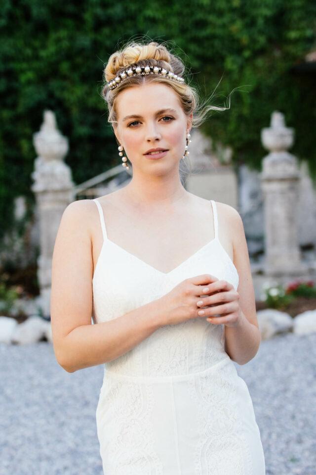 Brautkleid Meerjungfrau – verführerisches Spitzenkleid mit Schleppe – Arielle