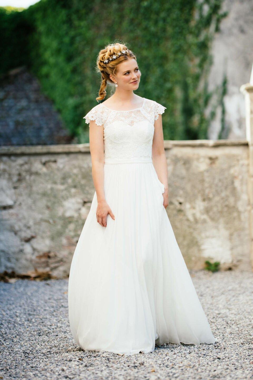 Bridgerton Hochzeitskleid im Vintage Stil