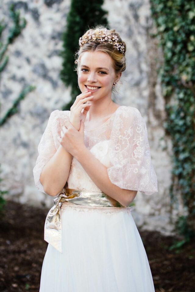 Modernes Brautkleid ohne Träger mit Herzcorsage & Soft-Tüll-Rock – Sweetheart