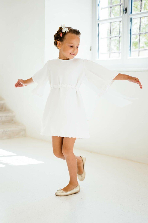 Nachhaltiges Kinderkleid zur Hochzeit