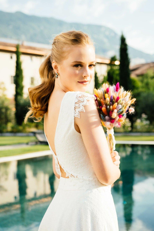 Nachhaltiges Braut Top mit Flügelarm